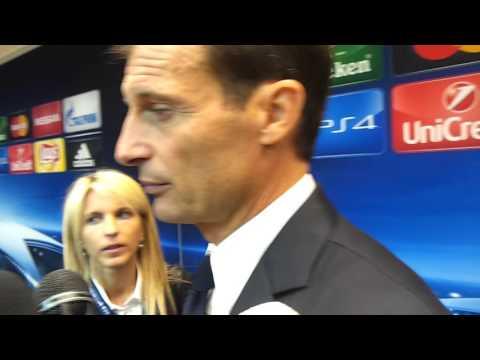Juventus-Siviglia: Massimiliano Allegri