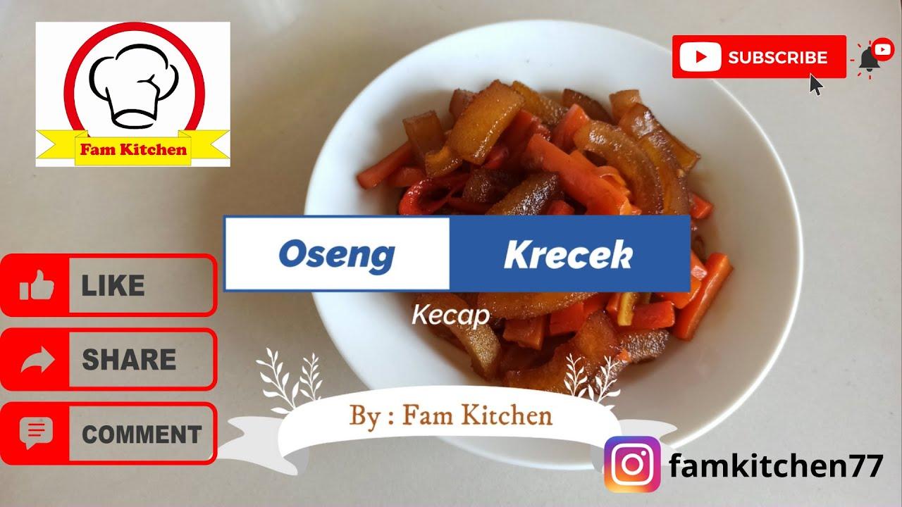 Oseng Krecek Kecap Tumis Kulit Sapi Kecap By Fam Kitchen Homemade Youtube