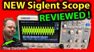 #520 Siglent SDS2352X-E 350MHz Oscilloscope Review - How To Use The Siglent SDS2352X-E Scope ?