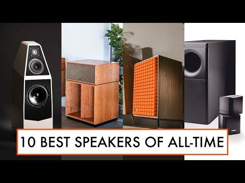 10 BEST Loudspeakers Of ALL-TIME