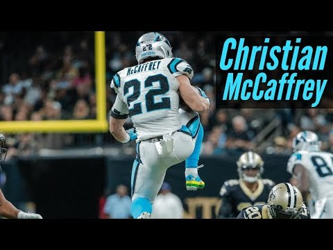 Christian McCaffrey Panthers Ultimate Rookie Highlights