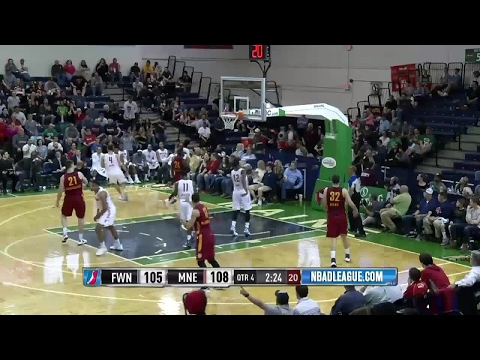 Travis Leslie with 5 Steals against the Red Claws