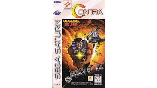 Contra: Legacy of War Review for the SEGA Saturn