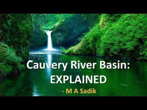 Cauvery River Basin: Explained | M A Sadik | SMART LEADERS IAS | CHENNAI