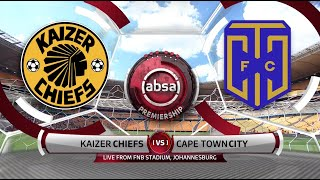 Absa Premiership | Kaizer Chiefs v Cape Town City | Highlights