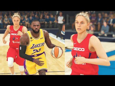NBA vs WNBA Players: Can Women Play In The National Basketball Association? NBA 2K20