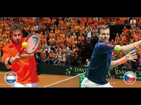 Davis Cup: Nederland - Tsjechië (Dag 1)