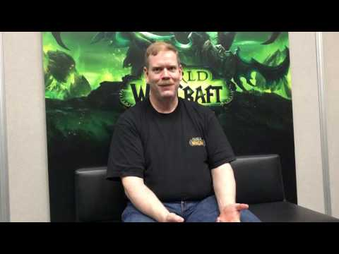 Blizzcon 2016: Lead WoW Engineer Patrick Magruder Interview