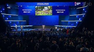 Жеребьевку футбольного Кубка конфедераций впрямом эфире транслирует Первый канал.