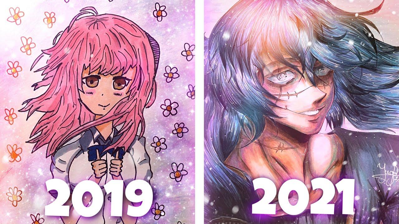Download Ma progression en 2 ans de dessin (review chill)