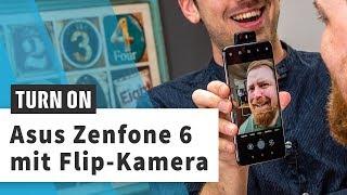 Asus Zenfone 6: Smartphone mit Klapp-Kamera