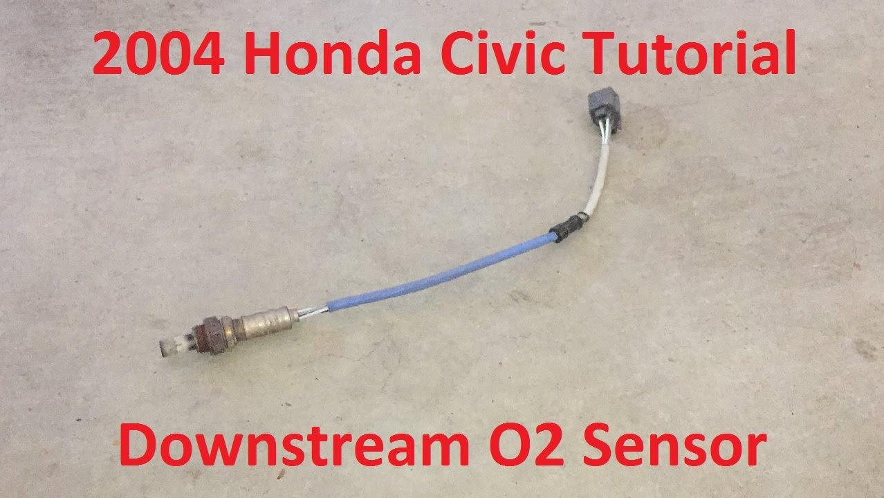 Tutorial: Change 2004 Honda Civic Downstream O2 Sensor ...