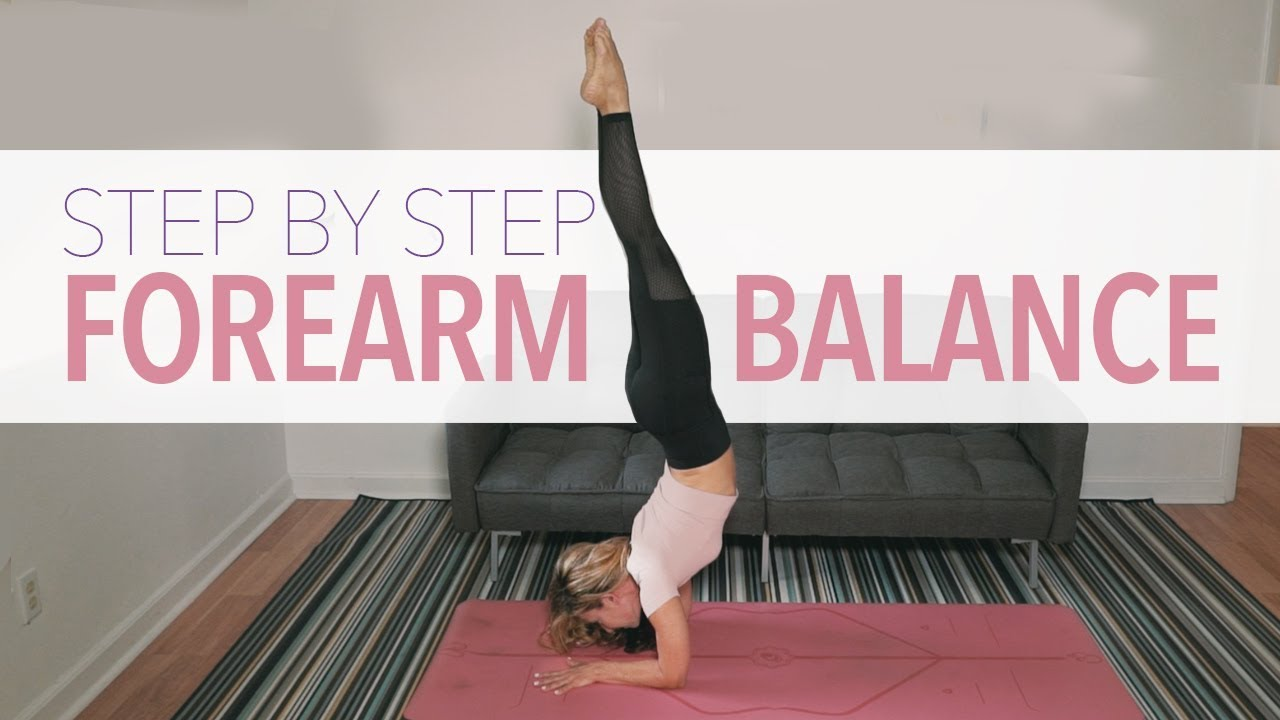 Forearm Balance Step By Step   Pincha Mayurasana   Nora ...