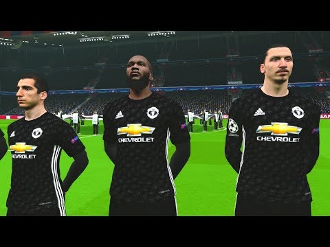 Basel vs Manchester United (Zlatan Scored 2 Goals) 22 November 2017 Gameplay