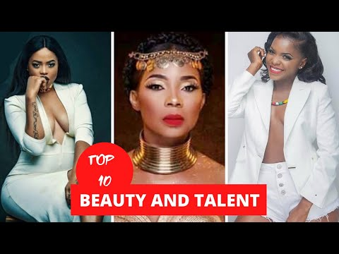 Top 10 Beautiful Cameroonian Ladies Leading The Music Industry.