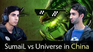 sumail viper vs universe axe with chinese pros full game dota 2