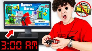 FAZE JARVIS PLAYS FORTNITE AT 3AM...