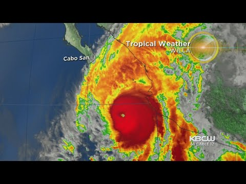 Strengthening Hurricane Willa Bears Down On Mexico