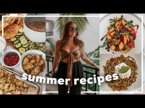 SUMMER MEAL IDEAS! Easy & Healthy Recipes from Trader Joe's | 2021