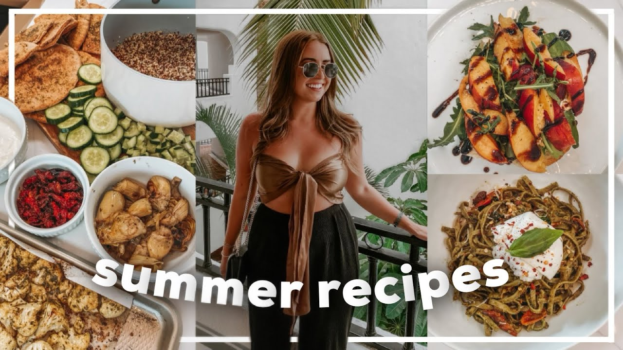 Download EASY SUMMER MEAL IDEAS! Healthy Recipes from Trader Joe's | 2021