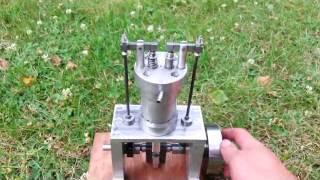 moteur a air/vapeur simple effet culbuter