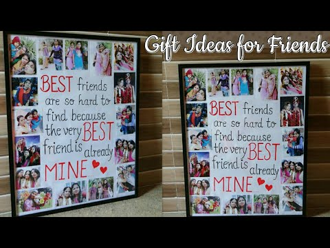 Photo Collage/Perfect Gift Idea for a Friend/How to make Photo Collage for Friends