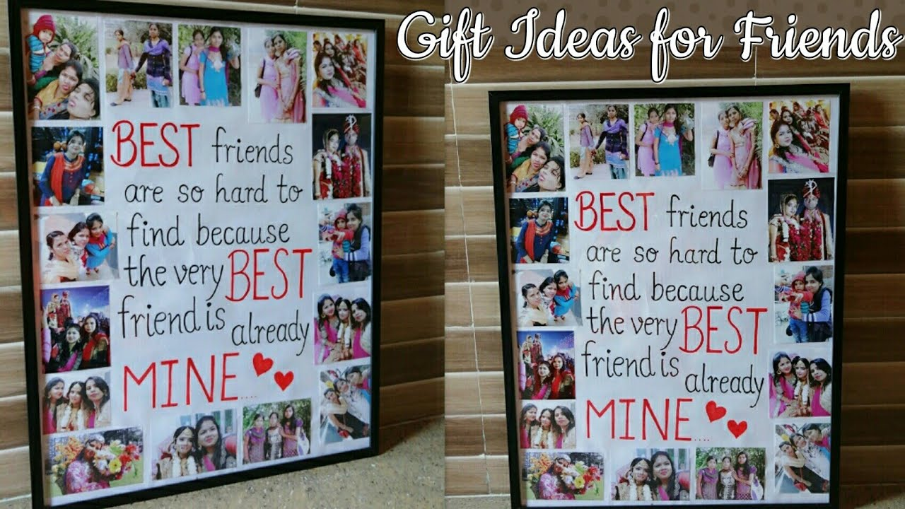 Photo Collage Perfect Gift Idea For A Friend How To Make