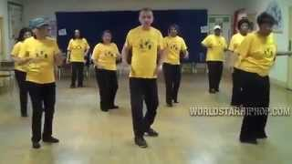 70-Year Old Man Shocks Everyone with his 2 Stepping