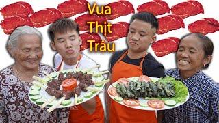 Hưng Vlog   Trận Chiến Vua Đầu Bếp Của Gia Đình Bà Tân Vlog - Tập 6 : Tìm Ra Vua Thịt Trâu
