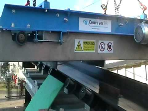 Crushing and Screening Overband Conveyor Magnet