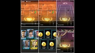 Ultimate Tennis, Arena play , straight victory to reward /Ultimate Tennis/online play