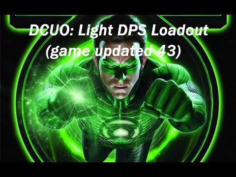 DCUO: Light DPS Loadout На Русском Языке (game updated 43)
