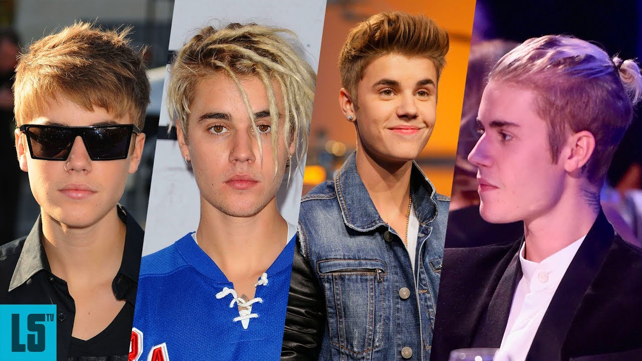 Justin Biebers Hair Evolution 2009 2017 YouTube