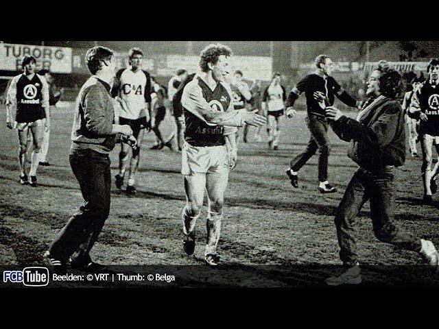 1985-1986 - Beker Van België - 06. Kwartfinale - Lierse SK - Club Brugge 1-4