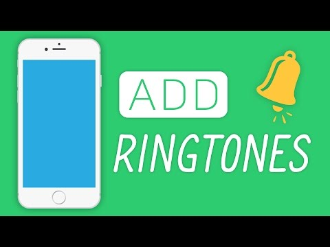 How To Add Ringtones To An iPhone 2017