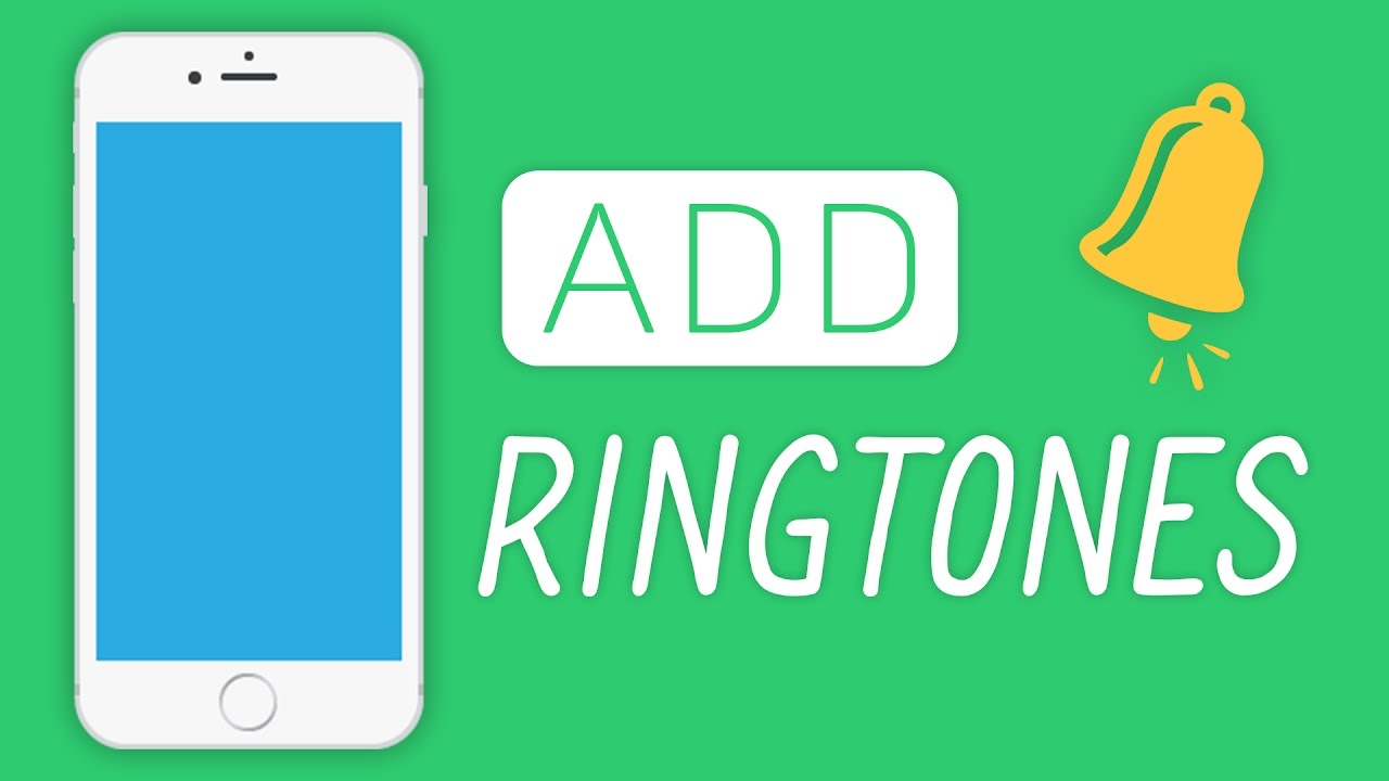 how to change add iphone ringtone