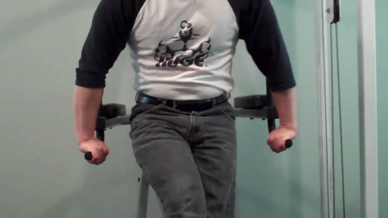 Vince Gironda Reverse Grip Dip - YouTube