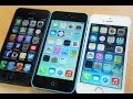 iPhone 5 vs iPhone 5C vs iPhone 5S Comparison