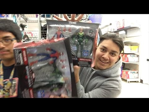 Toy Hunting! Marvel Legends Spidey Vulture 2 Pack is in Cali!