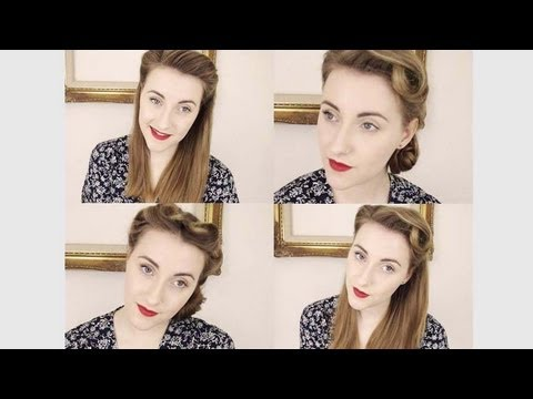 My Top Vintage Hairstyles + Tutorials - YouTube