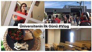 OKULUN İLK GÜNÜ #Vlog Marmara Üniversitesi | Üniversitenin İlk Günü