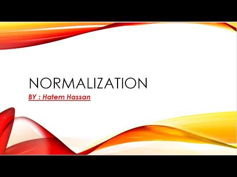 شرح normalization 1nf 2nf 3nf with example - YouTube