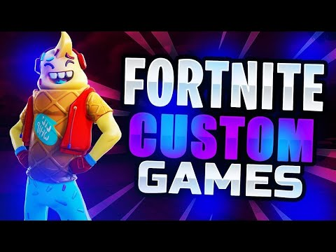 Fortnite CUSTOM GAMES |🔥Bis zum NEUEN FORTNITE SHOP ...