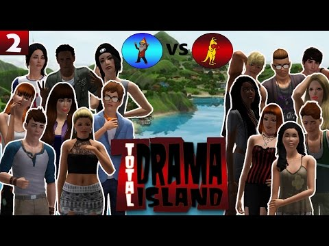 The Sims 3: TOTAL DRAMA ISLAND (SR) EP 2 | Part 1 | Fishy Fire Walk