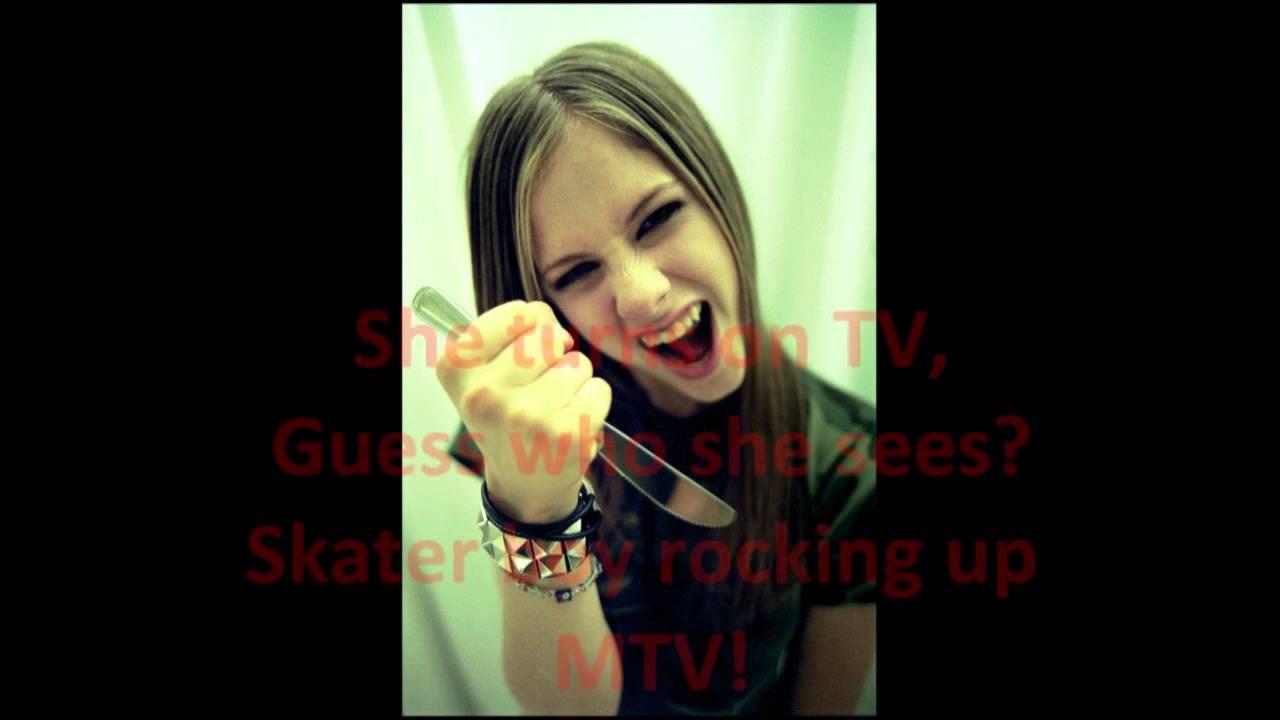 Avril Lavigne - Sk8ter Boy Lyrics | Musixmatch