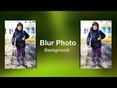 BACKGROUND BLUR BY ANDROID