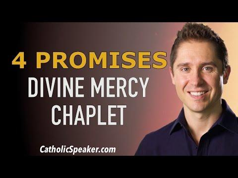 Chaplet of Divine Mercy: 4 Promises