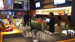 Bar show TGIF pavillion. Mall