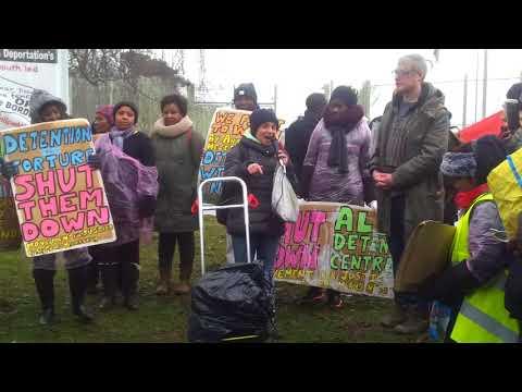 PROTEST MORTON HALL Immigration Detention Centre 2018