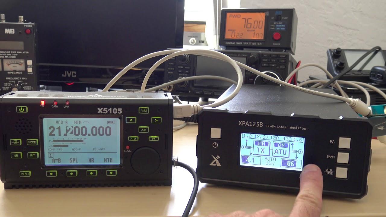 HF Amplifier, QRP, Xiegu XPA125B, Ham Radio Amplifier